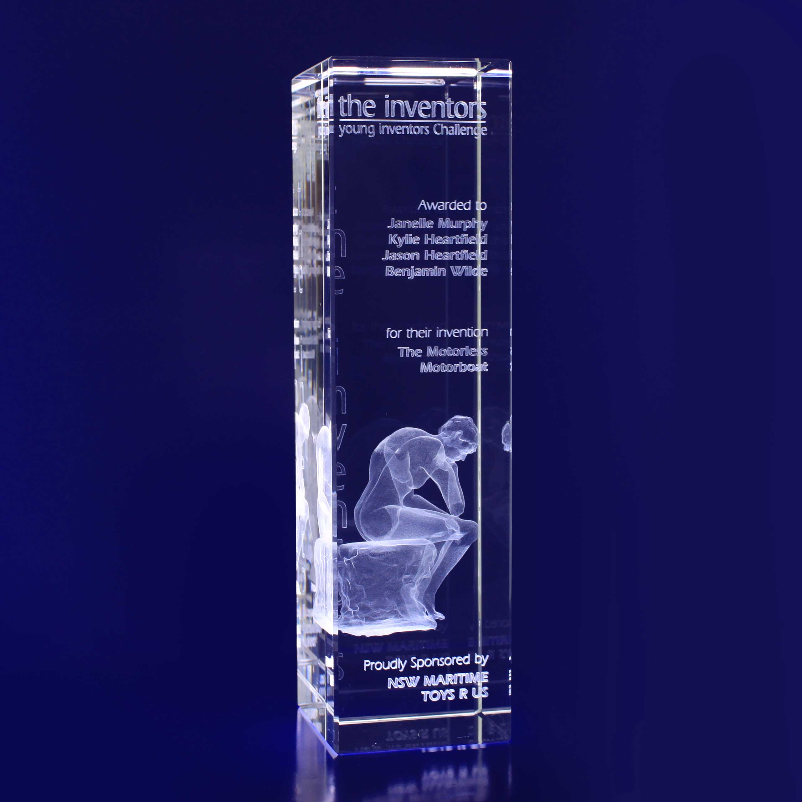 3D Crystal - Bar
