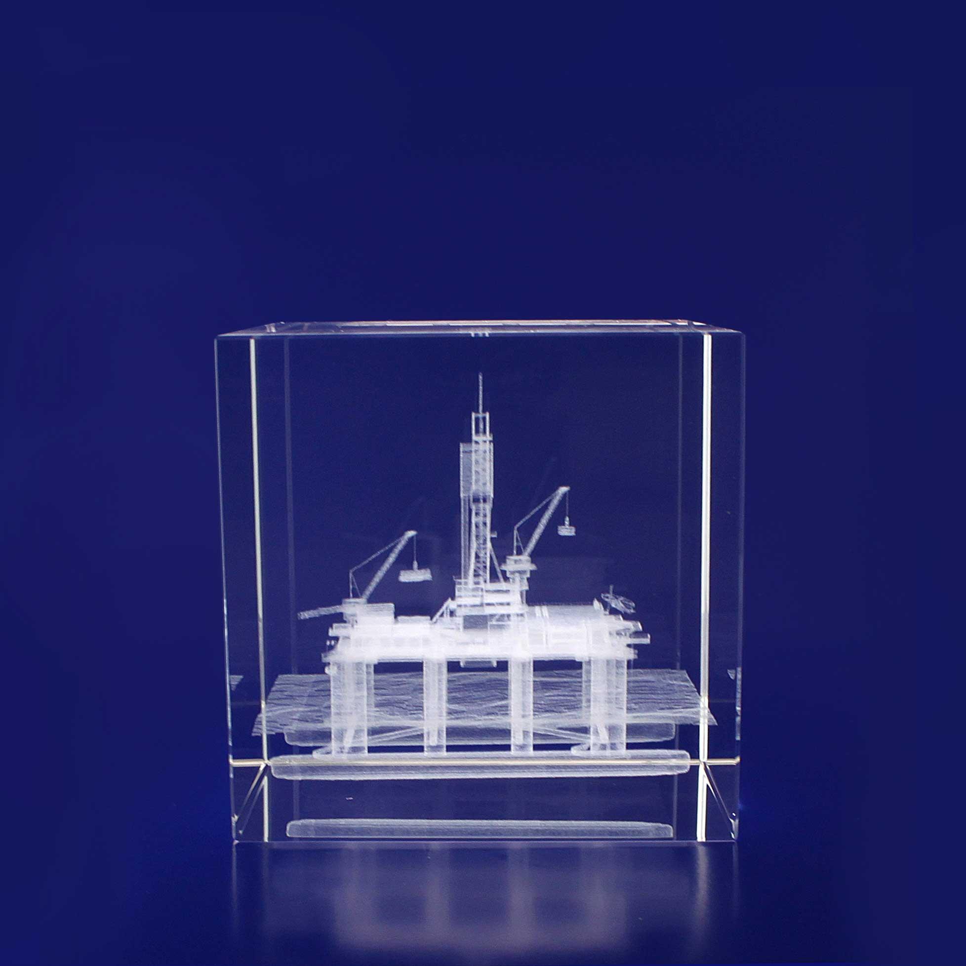 3D Crystal - Cube