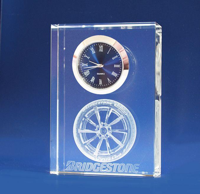 3D Crystal - Clock