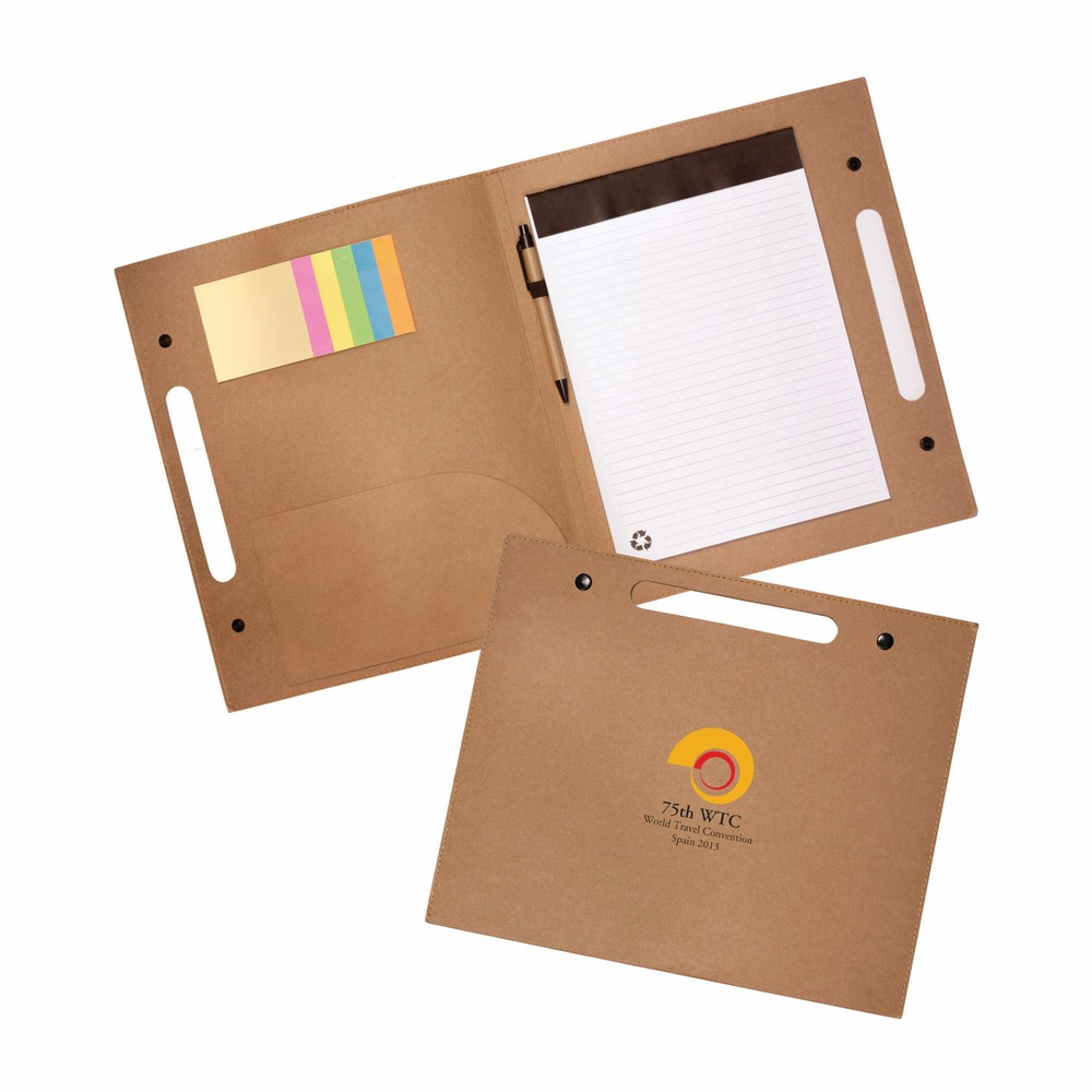 Enviro Folder with Pen