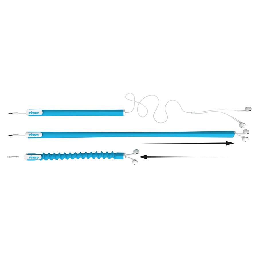 Pulli Earbud Organiser (Blue)