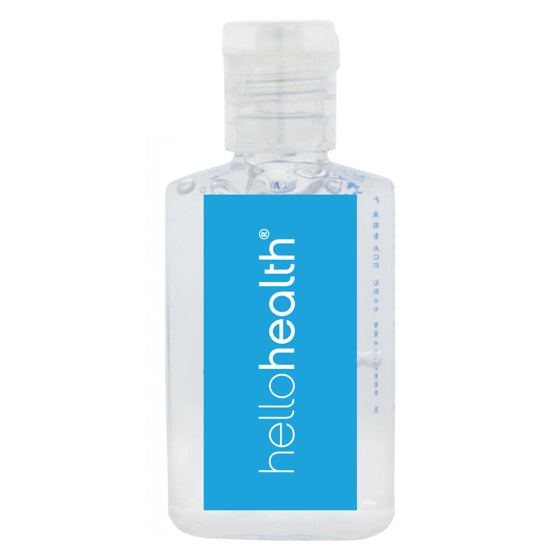 30ml Hand Sanitiser Gel - 62% ethyl-alcohol