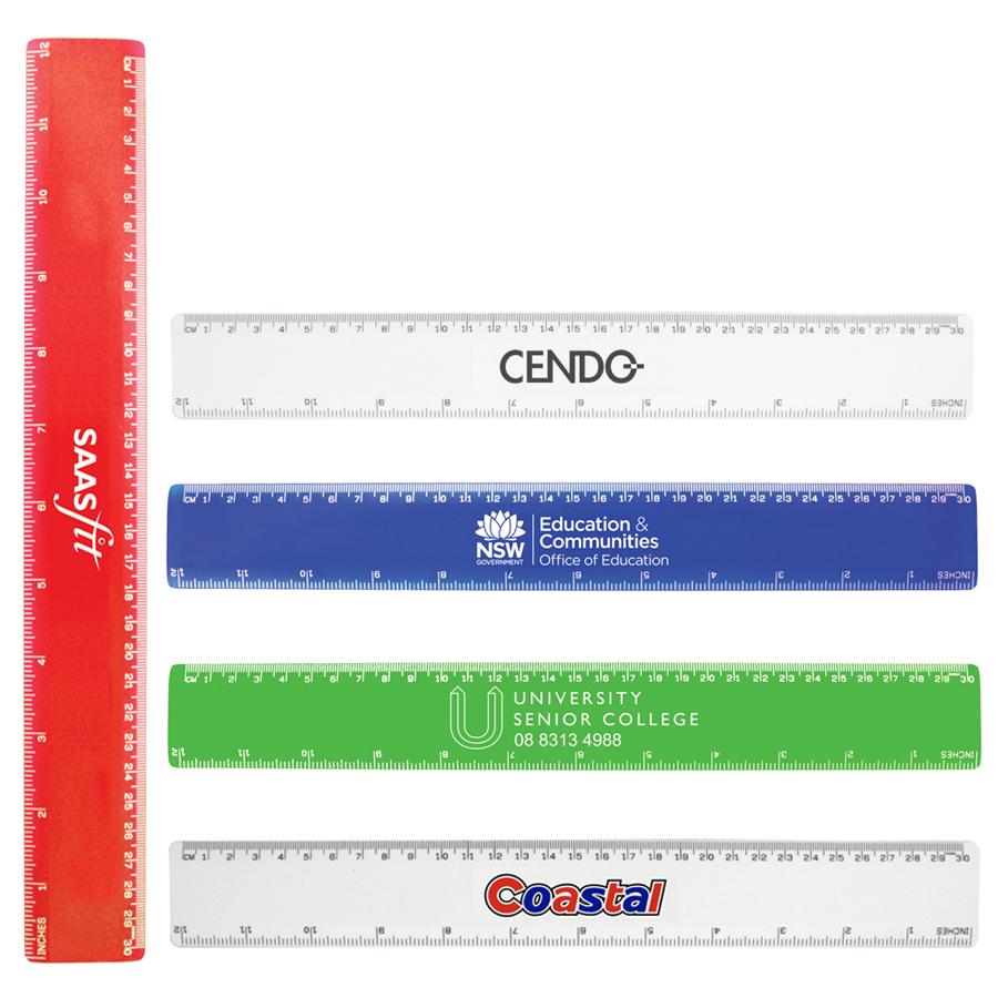 30cm Plastic Ruler