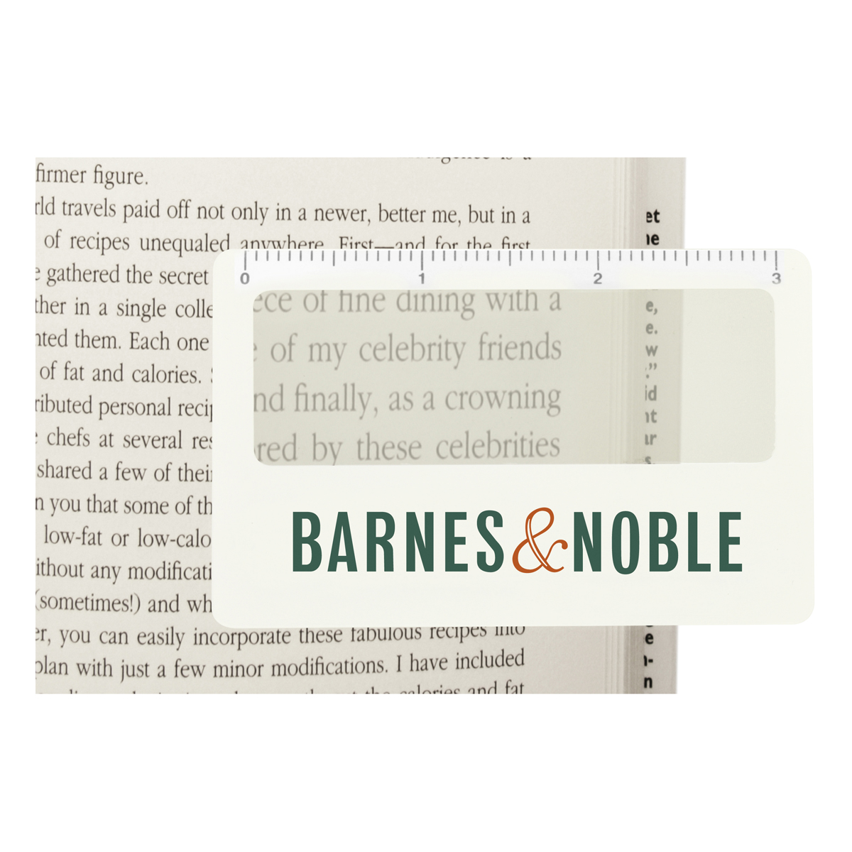 Pocket Ruler Magnifier with Sleeve