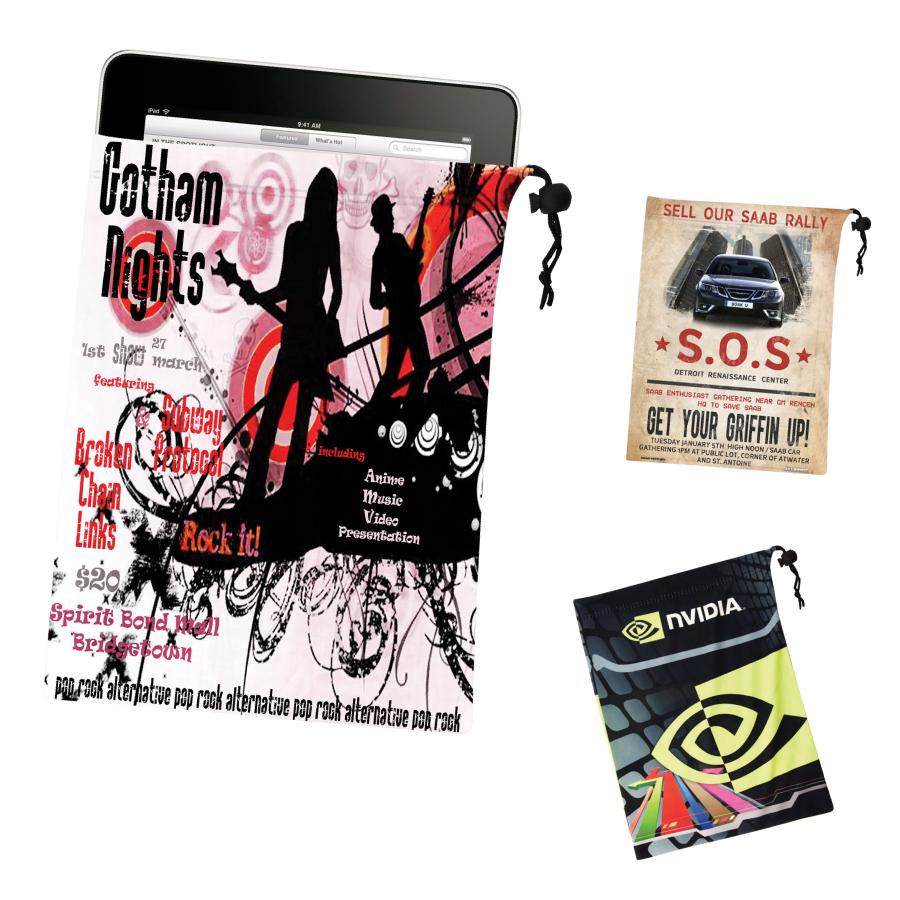 Micro Fibre iPad Pouch