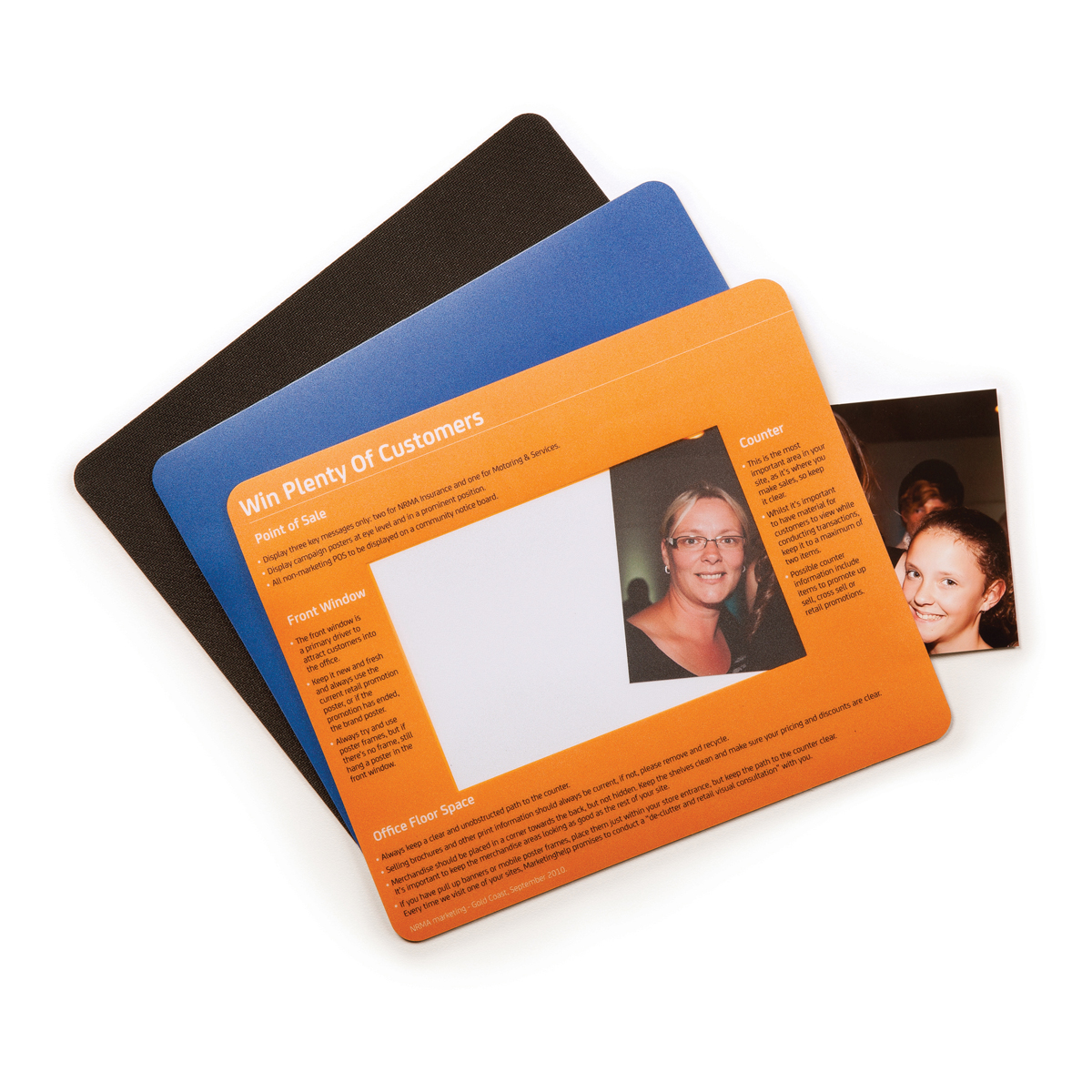 Photo Frame Mouse Mat (230mm x 190mm)