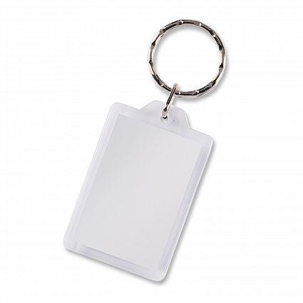 Lens Key Ring - Rectangle