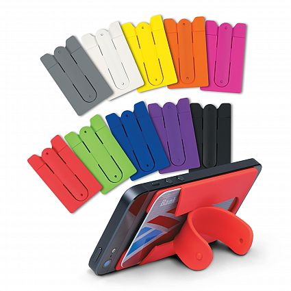 Silicone Phone Stand Wallet