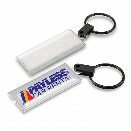 Star Flex Screen Cleaner Key Ring with Light