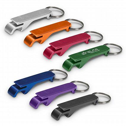 Aluminium Bottle Opener Key Ring