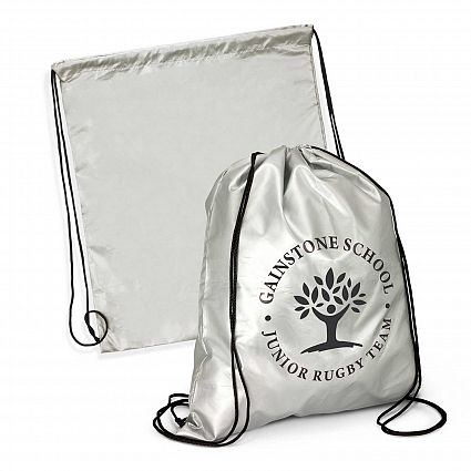 Titanium Drawstring Backpack