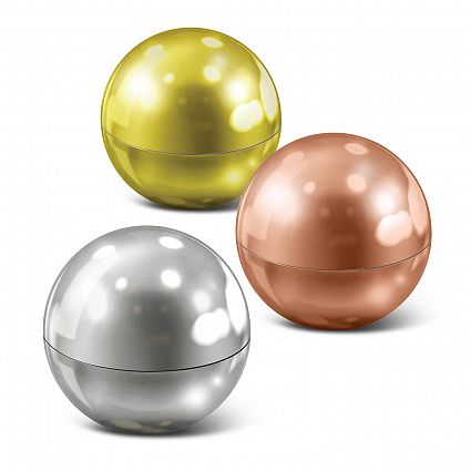 Metallic Lip Balm Ball