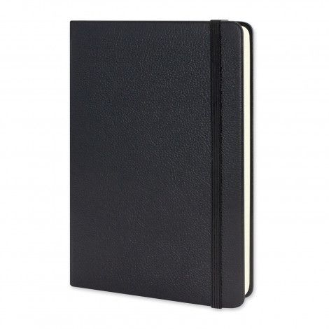 Moleskine Classic Leather Hard Cover Notebook - Large