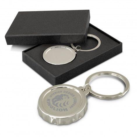 Orleans Bottle Opener Key Ring
